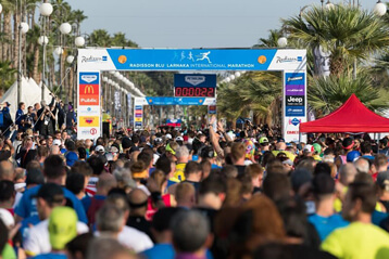Radisson Blu Larnaka International Marathon 15 November 2020