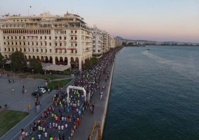 8th International Thessaloniki Night Half Marathon-Dole 19 October 2019