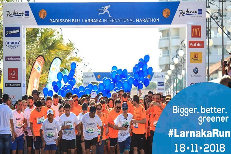 Radisson Blu Larnaka International Marathon 18 November 2018