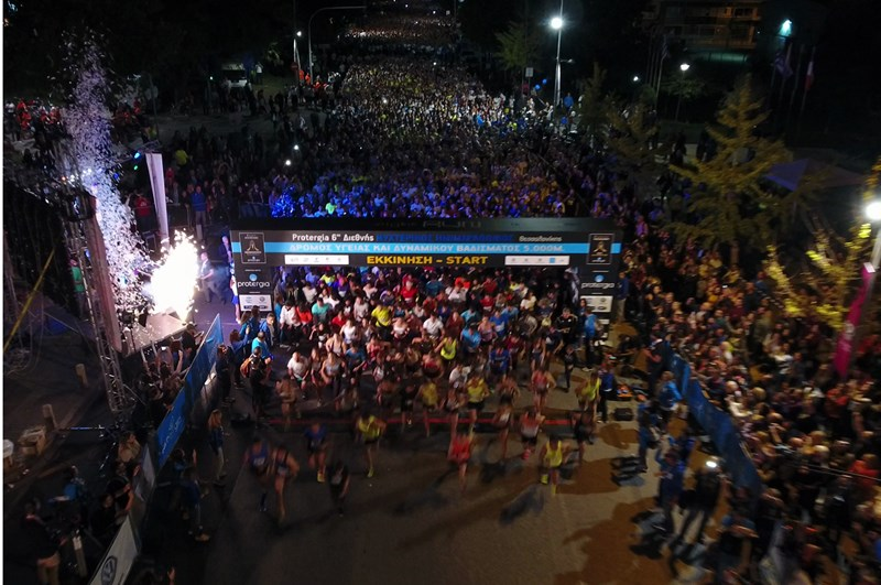 7th International Thessaloniki Night Half Marathon 13 October 2018