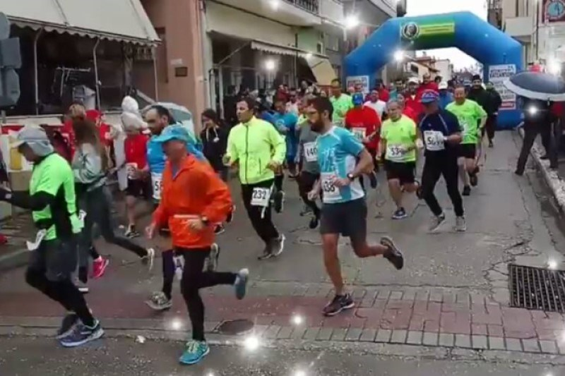"4th Half-Marathon Spercheiou  ""Athanasios Akridas""  24 February 2019"