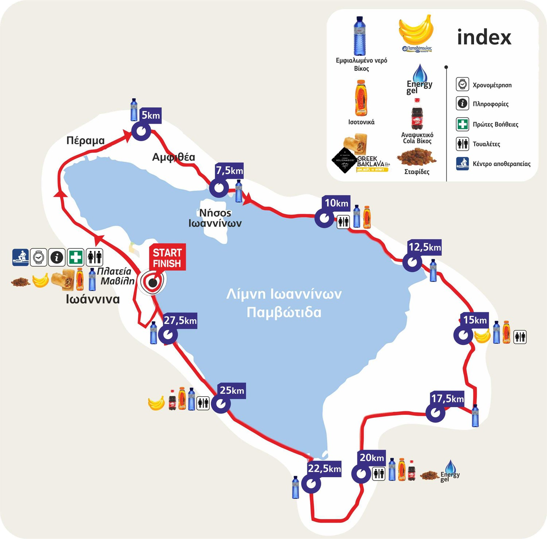 13th Ioannina Lake Run   21&22 September 2019