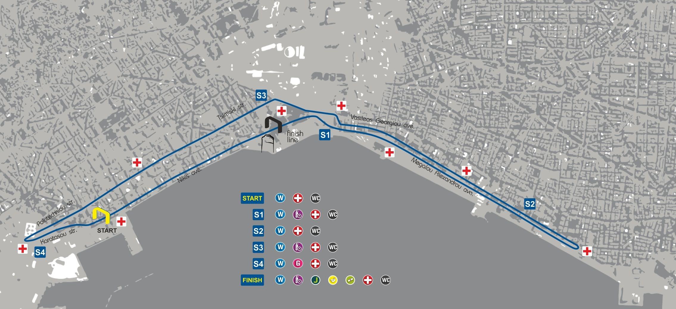 Protergia 7th International Thessaloniki Night Half Marathon 13 October 2018